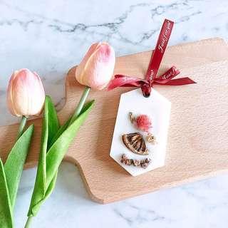 Lemongrass Wax Tablet (30g) - Handmade