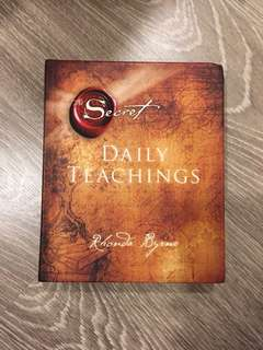 Daily Teachings - secret
