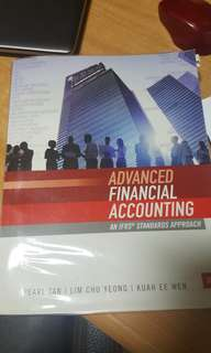Advanced Financial Accounting 3e(smu afa tb)