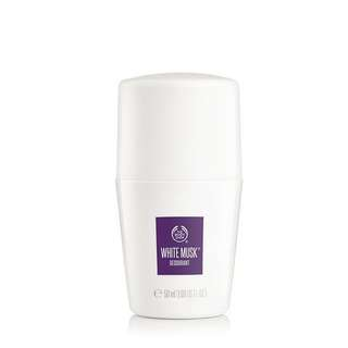 NEW white musk deodorant bodyshop