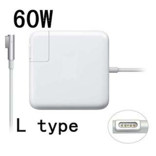 L Tip 60W AC Wall Power Supply Adapter Charger for Apple MacBook Pro MagSafe 13 13.3 UK Plug