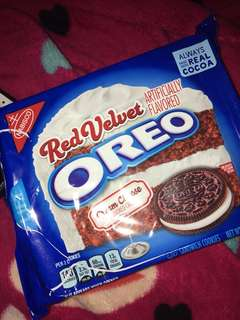 Red velvet limited edition oreo