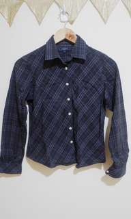 Burberry button down long sleeves