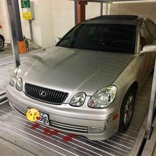 凌志Luxes 自售2001年領牌GS300小改款變速箱保固一年