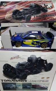 Tomahawk touring car series 1:10 nitro powered