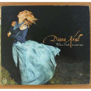 "Jazz CD: Diana Krall ""When I Look In Your Eyes"""