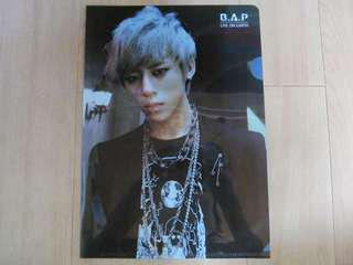 B.A.P Live On Earth L-Holder