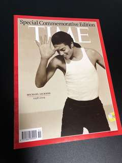 TIME magazine Michael Jackson