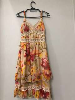 Floral beach dress for sale