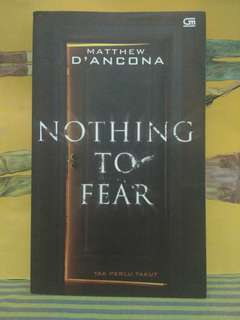 Nothing to Fear - Matthew d'Ancona