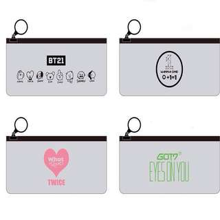 Kpop Transparent Pencil Case / Pencil Box