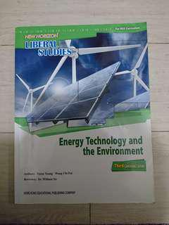 Liberal studies LS energy technology and the environment book 6