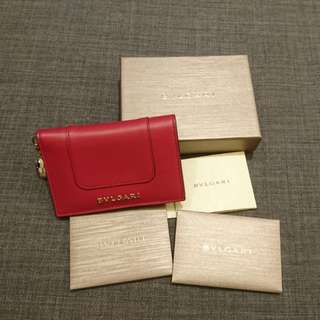 (90% new) Bulgari small wallet /card case