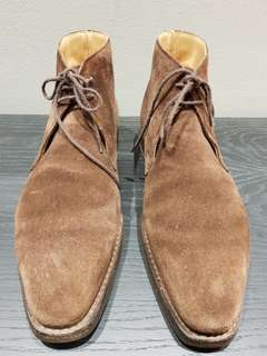 Crockett & Jones Tetbury Suede Chukka Boot