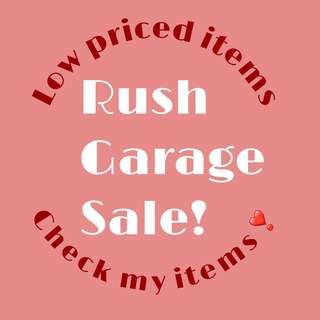 Rushed Sale Item! Check my listings