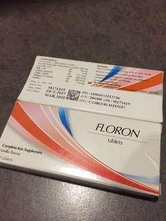 Fluoron iron tablets