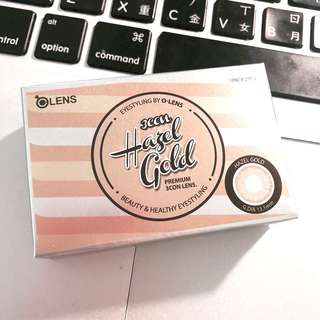🚚 Olens hazel gold 韓國代購 150度 隱眼