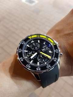 Iwc aqua timer 2000 chronograph