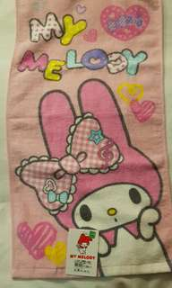 My melody face towel