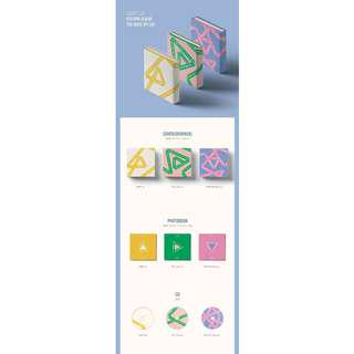 [RUSH NO PROFIT ORDER] Seventeen You Make My Day album + Poster