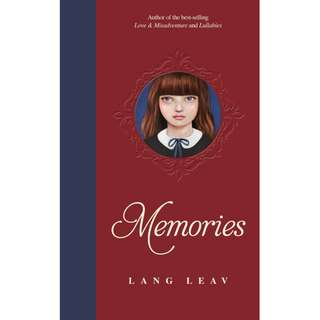 Memories by Lang Leav (EBook Poetry Novel)