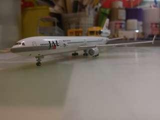 JAL JBird MD-11 飛機模型 1:500  淨機