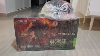 🚚 BNIB Asus GTX 1070 Ti Cerberus (Local)