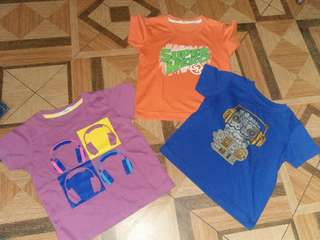 Lot of 3 shirt 3-4t boy