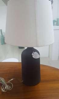Filipino hand made ceramic lamp