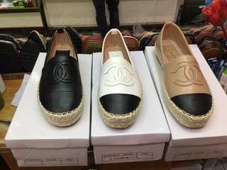 Chanel espadrille shoes