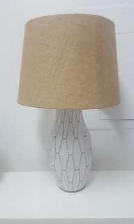 Filipino hand made ceramic lamp