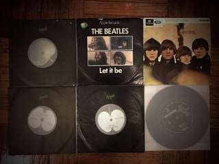 "🚚 Bundle deal of 14 x 7"" vinyl records - Beatles, 60s-70s pop"
