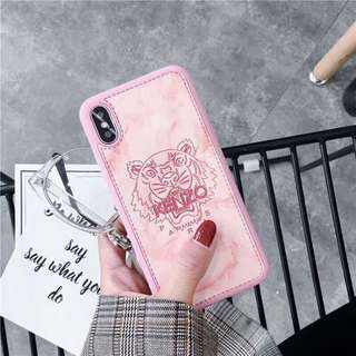 Kenzo pink marble iPhone 7 case
