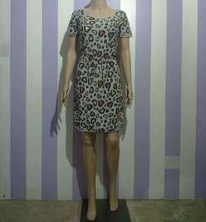 KOOKAI GARTER WAIST KNITTED DRESS