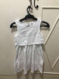 Uniqluo White Dress