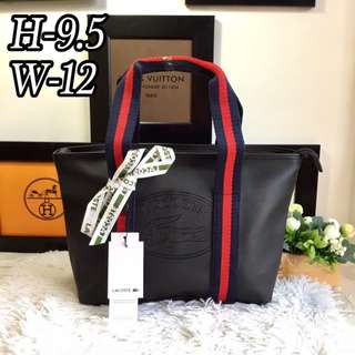 lAcoste tote bags