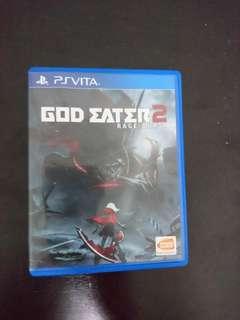 PS Vita God Eater 2 Rage Burst