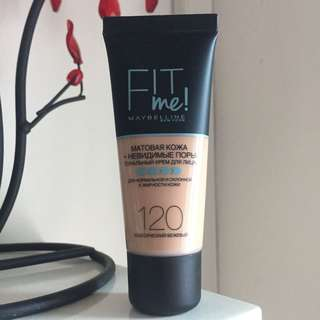 🚚 Maybelline Fit Me Foundation Matte