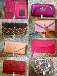 Wallet cellet purse