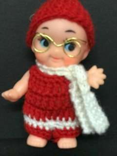 Red White 10cmBoy Doll