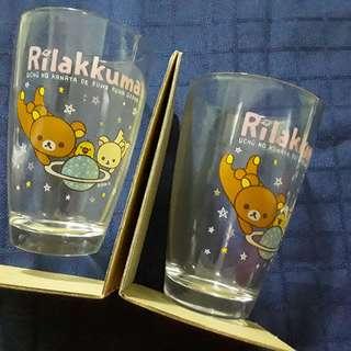 Rilakkuma lucky draw, Rilakkuma glass (2 in a box)