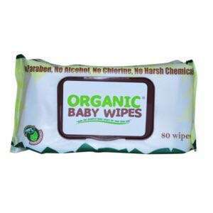 Organic Baby Wipes with Cap 80 pulls Bundle