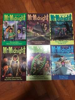 Mr Midnight / Mr Mystery Books