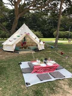 🚚 glampingkaki-Standard Medium Bell Tent