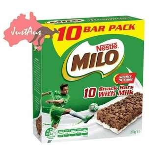 Milo Milk Snack Bar 美祿脆脆牛奶能量棒
