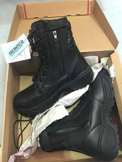 RSAF Combat safety boots, high cut