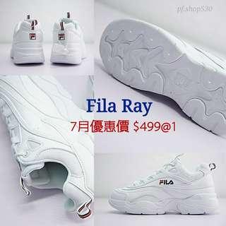 Fila Ray 增高厚底鞋