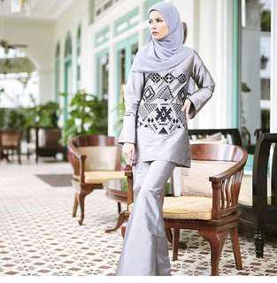 Tafetta baju kurung by Sawdaa