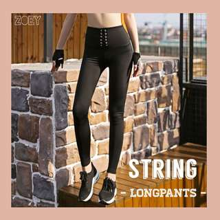 String longpants / Sportslegging