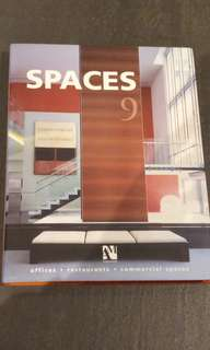 Architectural book - SPACES Offices, Restaurants, Commercial
